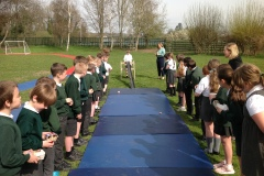 Year 4 Egg Rolling