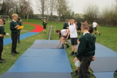 Year 6 Egg Rolling